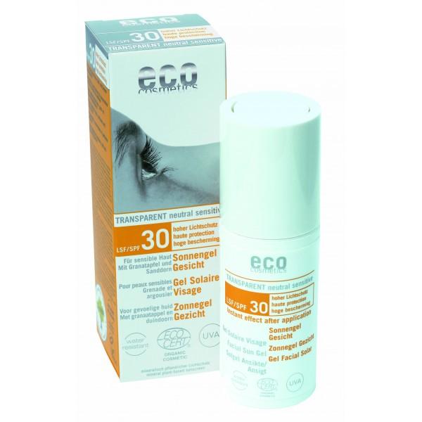 ECO Sonnengel Gesicht LSF 30 transparent 30ml
