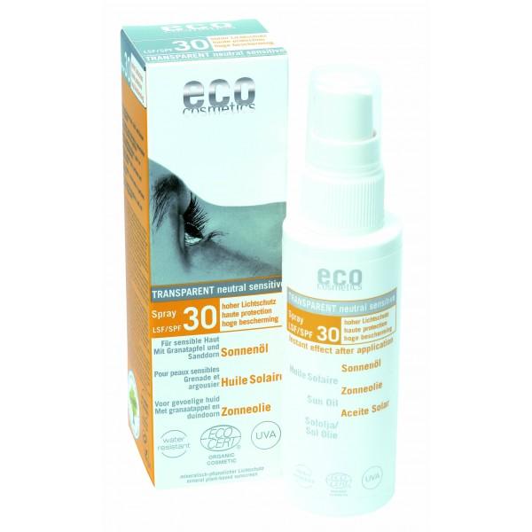 ECO Sonnenöl LSF 30 transparent 50ml