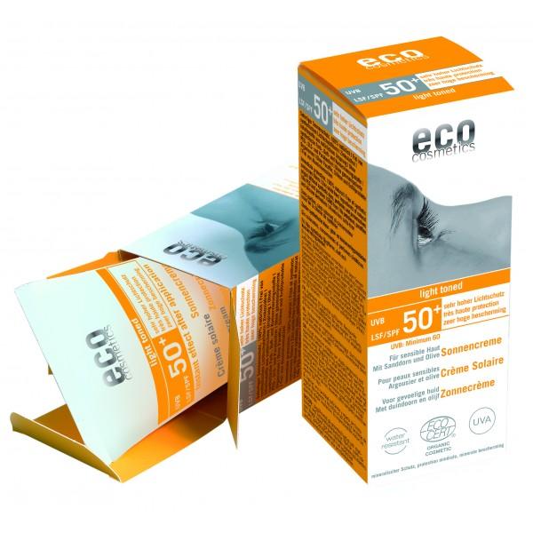 ECO Sonnencreme LSF 50 leicht getönt 75ml