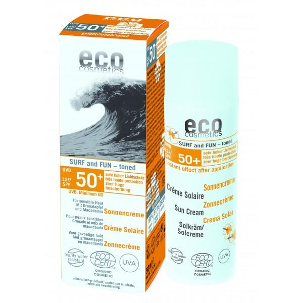 ECO Sonnencreme LSF 50 getönt SURF & FUN 50ml