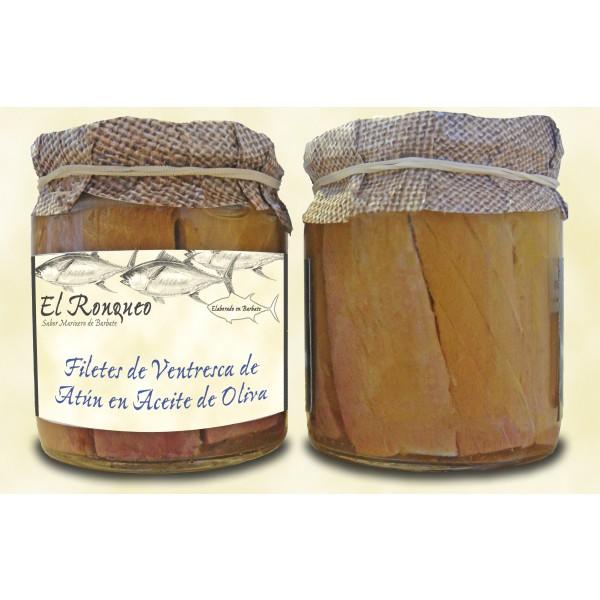 Ventresca de Atún, (noch edler und zarter als Filets) en aceite de oliva